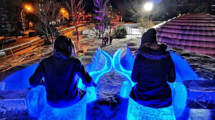 Ice on Whyte
